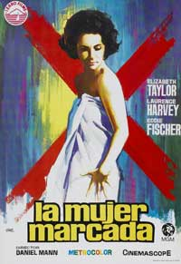 Butterfield 8 - 11 x 17 Movie Poster - Spanish Style A
