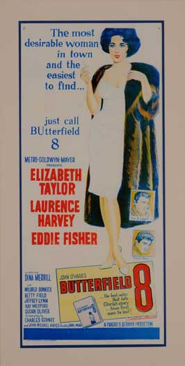 Butterfield 8 - 14 x 36 Movie Poster - Insert Style B