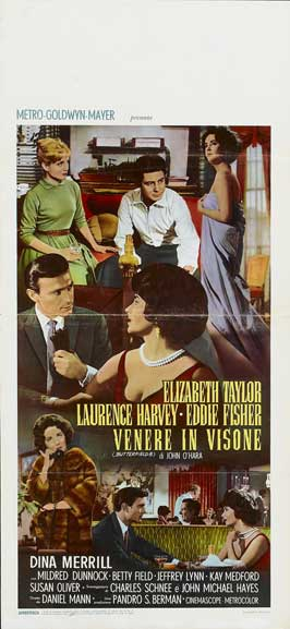 Butterfield 8 - 14 x 36 Movie Poster - Insert Style A