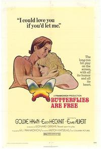 Butterflies Are Free - 43 x 62 Movie Poster - Bus Shelter Style A