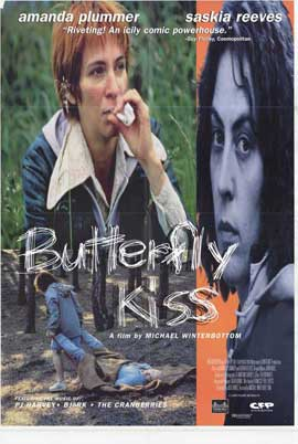 Butterfly Kiss - 27 x 40 Movie Poster - Style A
