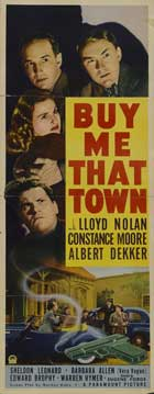 Buy Me That Town - 14 x 36 Movie Poster - Insert Style A