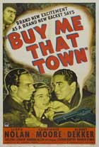 Buy Me That Town - 11 x 17 Movie Poster - Style A