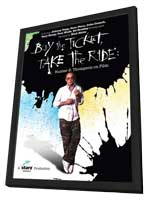 Buy the Ticket, Take the Ride - 11 x 17 Movie Poster - Style A - in Deluxe Wood Frame