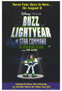 Buzz Lightyear of Star Command: The Adventure Begins - 27 x 40 Movie Poster - Style A