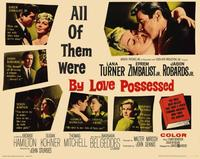 By Love Possessed - 11 x 14 Movie Poster - Style A