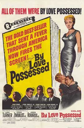 By Love Possessed - 27 x 40 Movie Poster - Style A