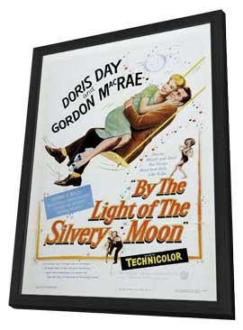 By the Light of the Silvery Moon - 27 x 40 Movie Poster - Style B - in Deluxe Wood Frame