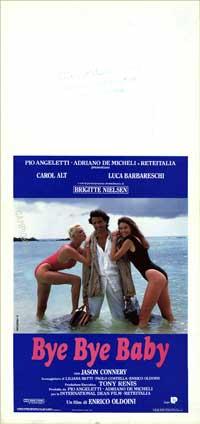 Bye Bye Baby - 13 x 28 Movie Poster - Italian Style A