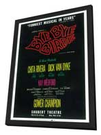 Bye Bye Birdie (Broadway) - 14 x 22 Poster - Style A - in Deluxe Wood Frame