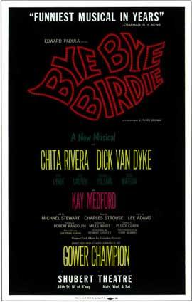 Bye Bye Birdie (Broadway) - 14 x 22 Poster - Style A