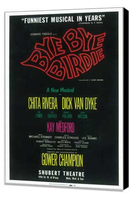 Bye Bye Birdie (Broadway) - 14 x 22 Poster - Style A - Museum Wrapped Canvas