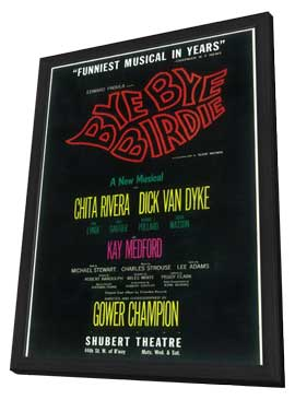Bye Bye Birdie (Broadway) - 11 x 17 Poster - Style A - in Deluxe Wood Frame