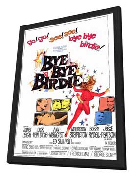 Bye, Bye, Birdie - 11 x 17 Movie Poster - Style A - in Deluxe Wood Frame