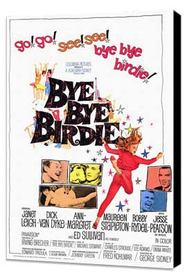 Bye, Bye, Birdie - 11 x 17 Movie Poster - Style A - Museum Wrapped Canvas