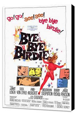 Bye, Bye, Birdie - 27 x 40 Movie Poster - Style A - Museum Wrapped Canvas