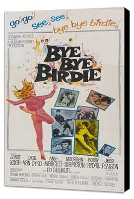 Bye, Bye, Birdie - 27 x 40 Movie Poster - Style B - Museum Wrapped Canvas