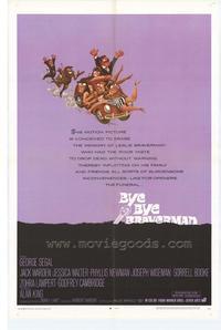 Bye Bye Braverman - 27 x 40 Movie Poster - Style A