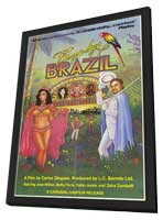 Bye Bye Brazil - 11 x 17 Movie Poster - Style A - in Deluxe Wood Frame
