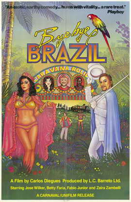 Bye Bye Brazil - 11 x 17 Movie Poster - Style A