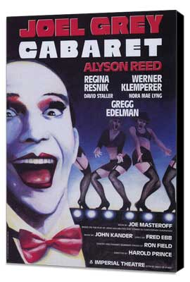 Cabaret (Broadway) - 11 x 17 Poster - Style A - Museum Wrapped Canvas