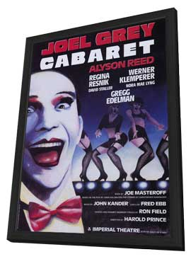 Cabaret (Broadway) - 27 x 40 Movie Poster - Style A - in Deluxe Wood Frame