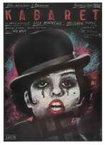 Cabaret - 27 x 40 Movie Poster - Polish Style A