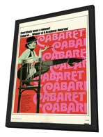 Cabaret - 11 x 17 Movie Poster - Style B - in Deluxe Wood Frame