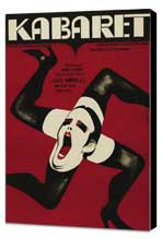 Cabaret - 27 x 40 Movie Poster - Polish Style B - Museum Wrapped Canvas