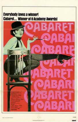 Cabaret - 11 x 17 Movie Poster - Style B