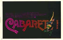 Cabaret - 11 x 17 Movie Poster - Style C