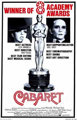 Cabaret - 11 x 17 Movie Poster - Style D