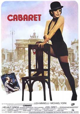 Cabaret - 11 x 17 Movie Poster - German Style A