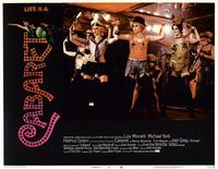 Cabaret - 11 x 14 Movie Poster - Style F