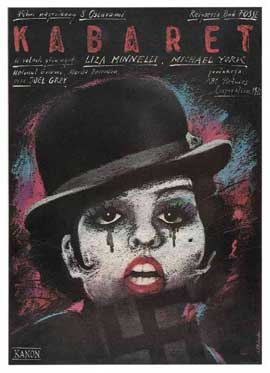 Cabaret - 11 x 17 Movie Poster - Polish Style A