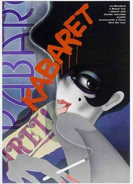 Cabaret - 11 x 17 Movie Poster - Czchecoslovakian Style A