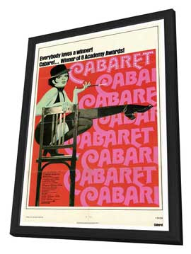 Cabaret - 27 x 40 Movie Poster - Style A - in Deluxe Wood Frame