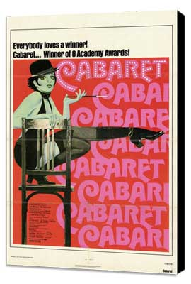 Cabaret - 11 x 17 Movie Poster - Style B - Museum Wrapped Canvas