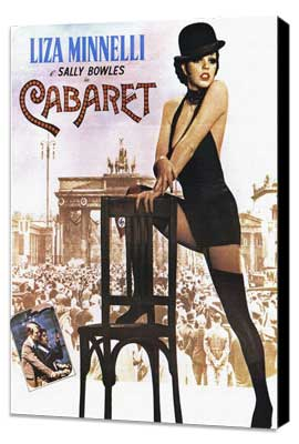 Cabaret - 27 x 40 Movie Poster - Italian Style A - Museum Wrapped Canvas