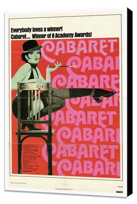 Cabaret - 27 x 40 Movie Poster - Style A - Museum Wrapped Canvas