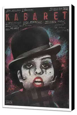 Cabaret - 27 x 40 Movie Poster - Polish Style A - Museum Wrapped Canvas