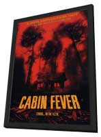Cabin Fever - 11 x 17 Movie Poster - Style C - in Deluxe Wood Frame