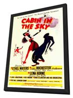 Cabin in the Sky - 11 x 17 Movie Poster - Style A - in Deluxe Wood Frame