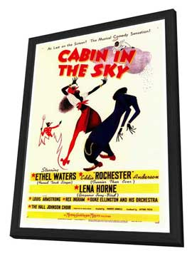 Cabin in the Sky - 27 x 40 Movie Poster - Style A - in Deluxe Wood Frame