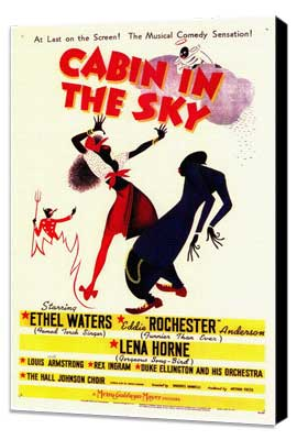 Cabin in the Sky - 11 x 17 Movie Poster - Style A - Museum Wrapped Canvas