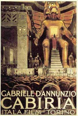 Cabiria - 11 x 17 Movie Poster - Italian Style B