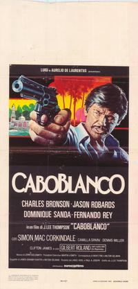Caboblanco - 39 x 55 Movie Poster - Italian Style A