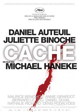 Cache - 11 x 17 Movie Poster - German Style A