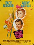 Cactus Flower - 11 x 17 Movie Poster - Danish Style A