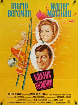 Cactus Flower - 27 x 40 Movie Poster - Danish Style A